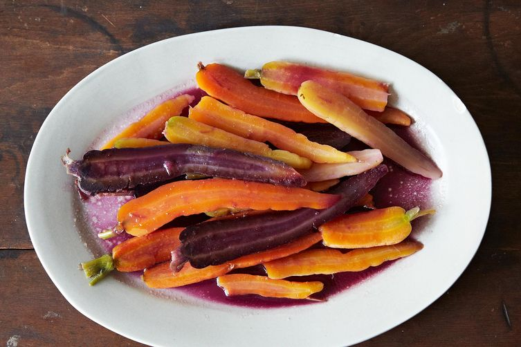 Colorful Carrots with Butter and Honey on Food52