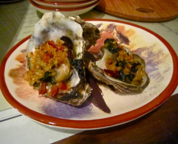 Cape Carteret Oysters Williams--AKA Rockefeller