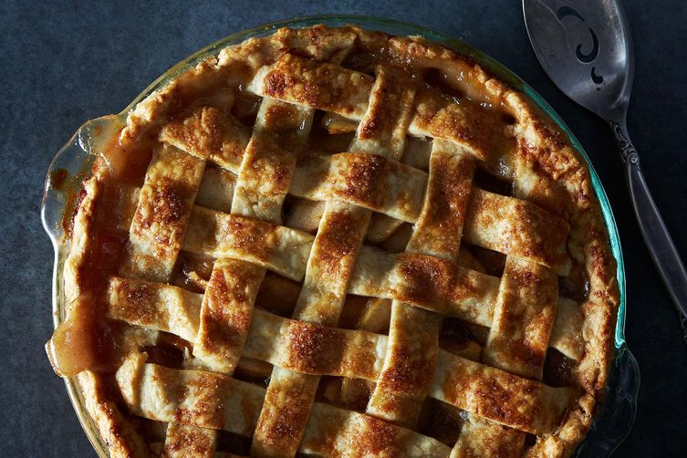 Masala Spiced Pear Pie