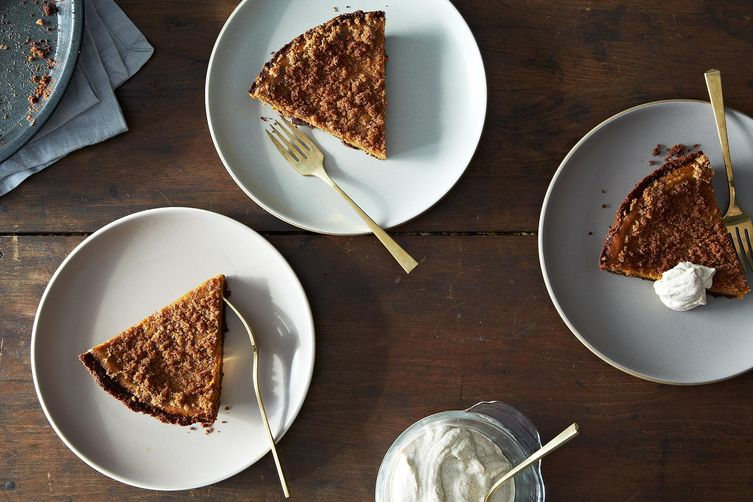 Pumpkin Pie with Gingersnap Crust on Food52