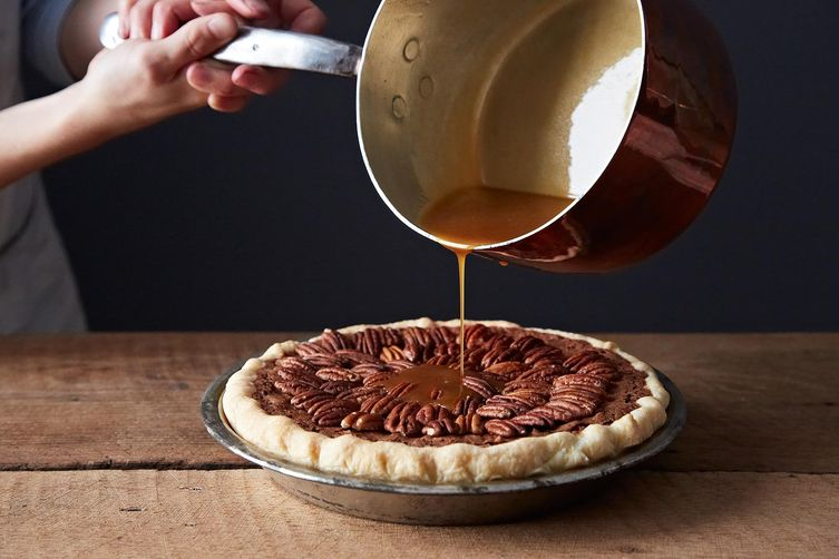 Salted Caramel Chocolate Pecan Pie on Food52