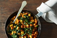 Tempeh and Sweet Potato Hash