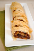 Bacon-Balsamic Strudel