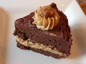 Choc Full o&#x27; Peanuts Cake