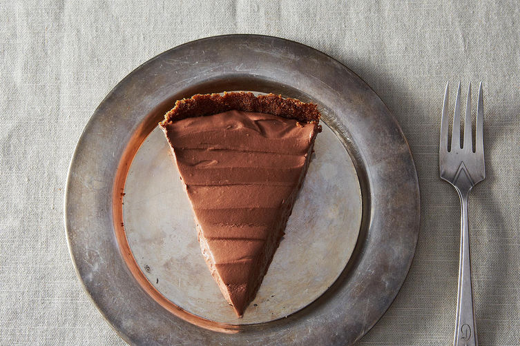 Silky Vegan Chocolate Pie