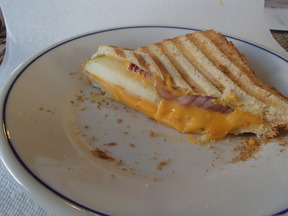 The Damn Fine Grilled Cheese Sandwich