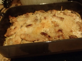 Old School Chicken Tetrazzini
