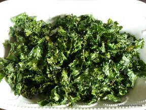 Slow Bake Kale Chips