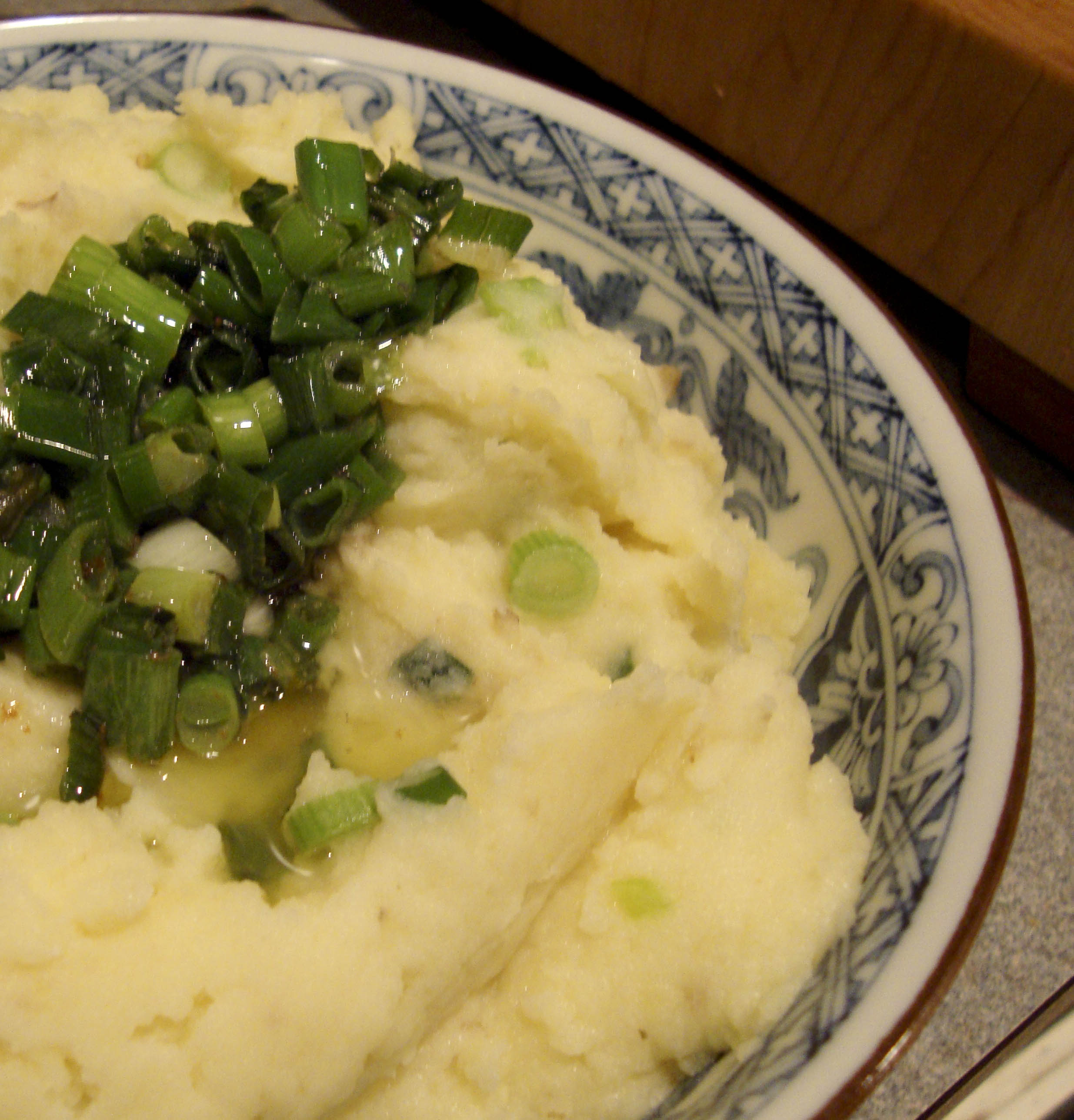 Buttermilk-Mashed Potatoes with Buttery Scallions