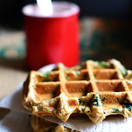 Sourdough_waffles_with_spinach