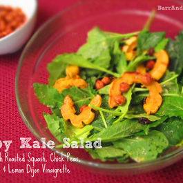 Barr_table_baby_kale_salad_roasted_delicata_squash_chick_peas_lemon_dijon_vinaigrette_recipe