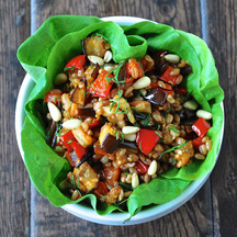 tunisian spiced wheat berry salad