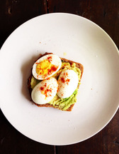 Avocado Garlic Toast