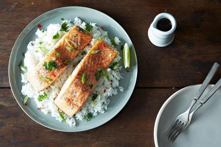 Roasted salmon from Food52