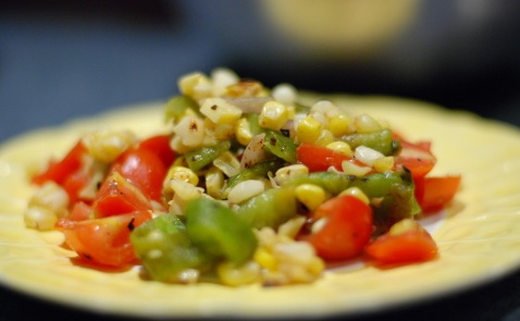 Smoky Corn-Chile Salad
