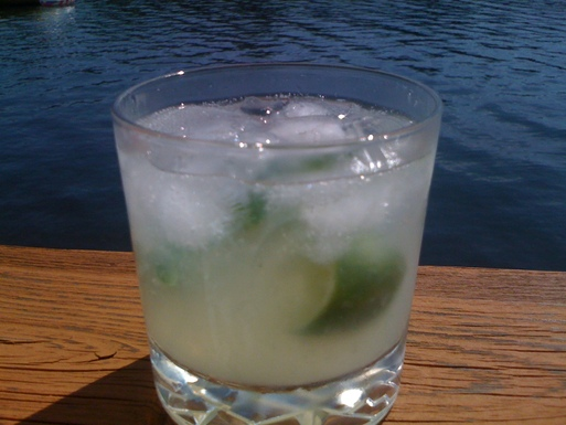 Gin Rickey (Is it a sin to drink gin before noon?)
