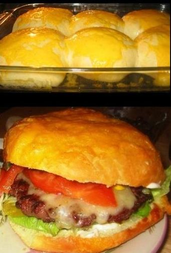 Burgers, Ground Beef Brisket with Double Cheese