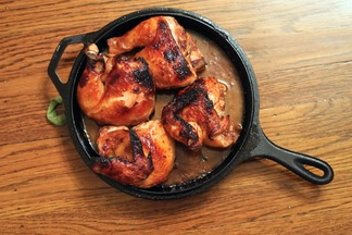 Teriyaki Roasted Chicken and Gravy