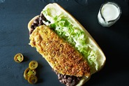 Pistachio-Crusted Chicken Tortas