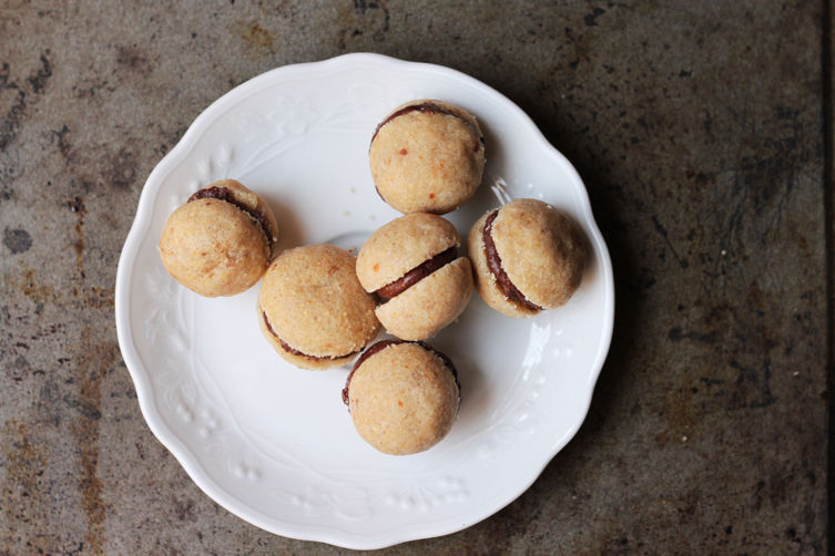 Baci di Dama (Chocolate-Filled Hazelnut Cookies) Recipe on Food52