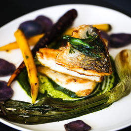 Daily-ampersand-how-to-cook-like-a-pro-bon-appetite-magazine-april-2014-edition-pan-fried-branzino-parsley-pesto-heirloom-vegetables-purple-potatoes-recipe-3