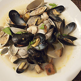 Shellfish-soup