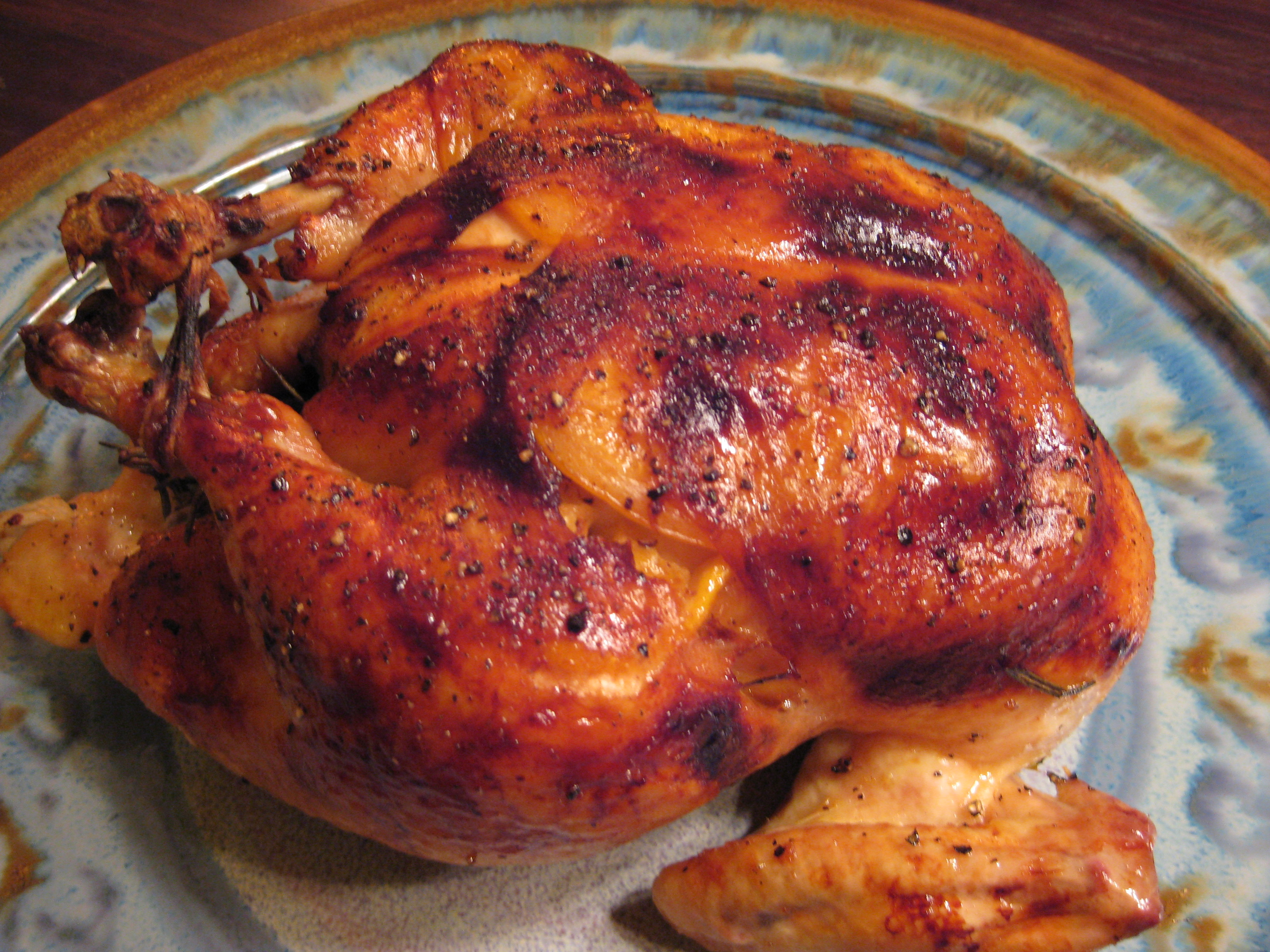 Roasted Chicken with Honey, Lemon and Rosemary Recipe on Food52