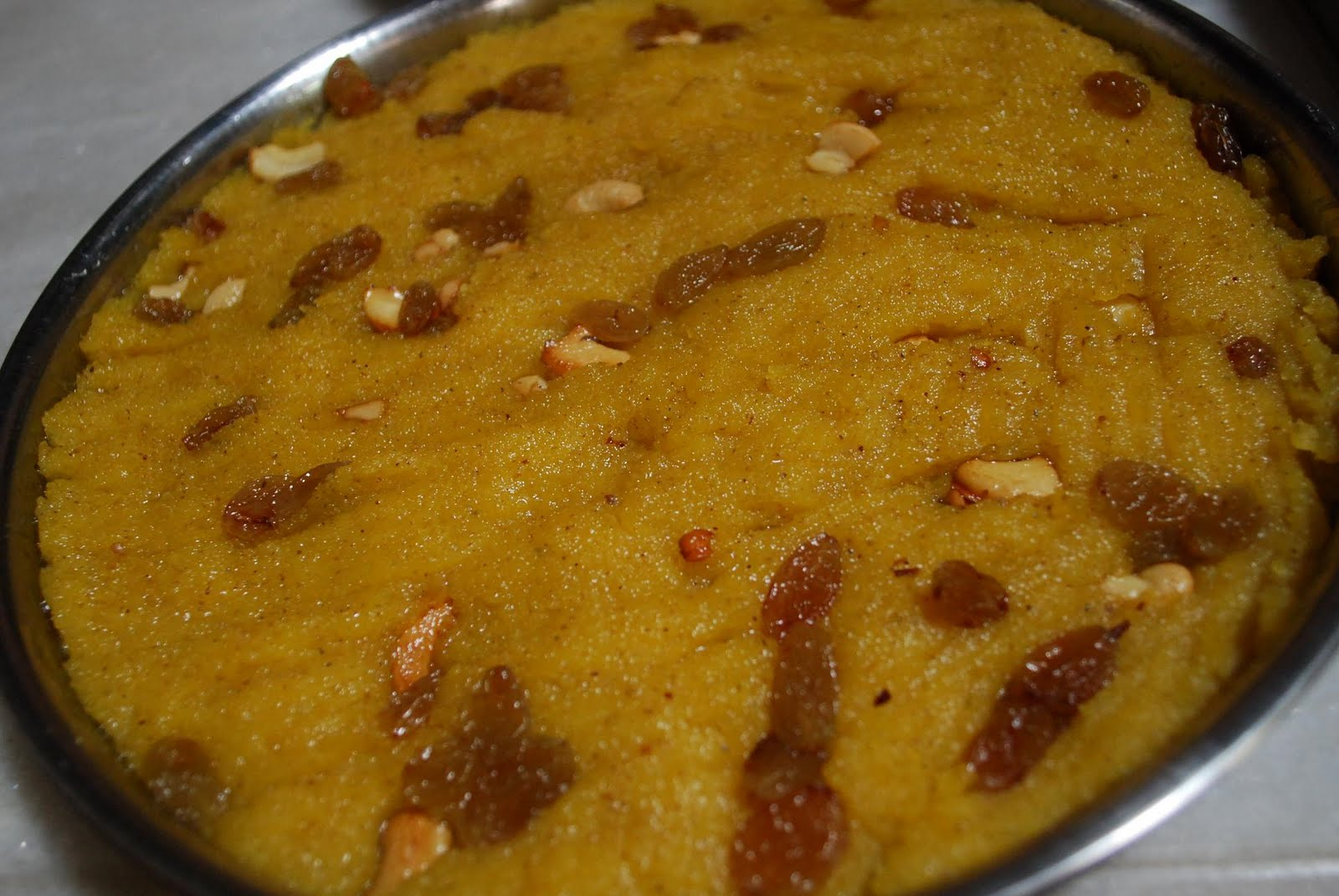 Sooji Ka Halwa (A Sweet Made from Semolina )