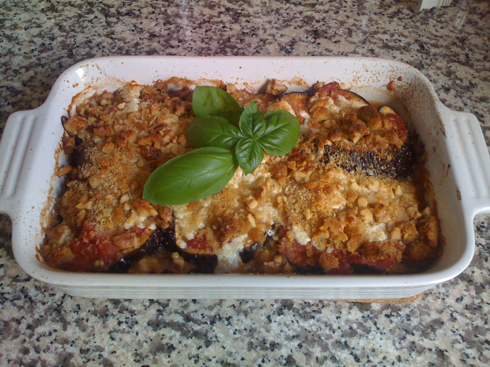 My Mother&#x27;s Eggplant Parmigiana