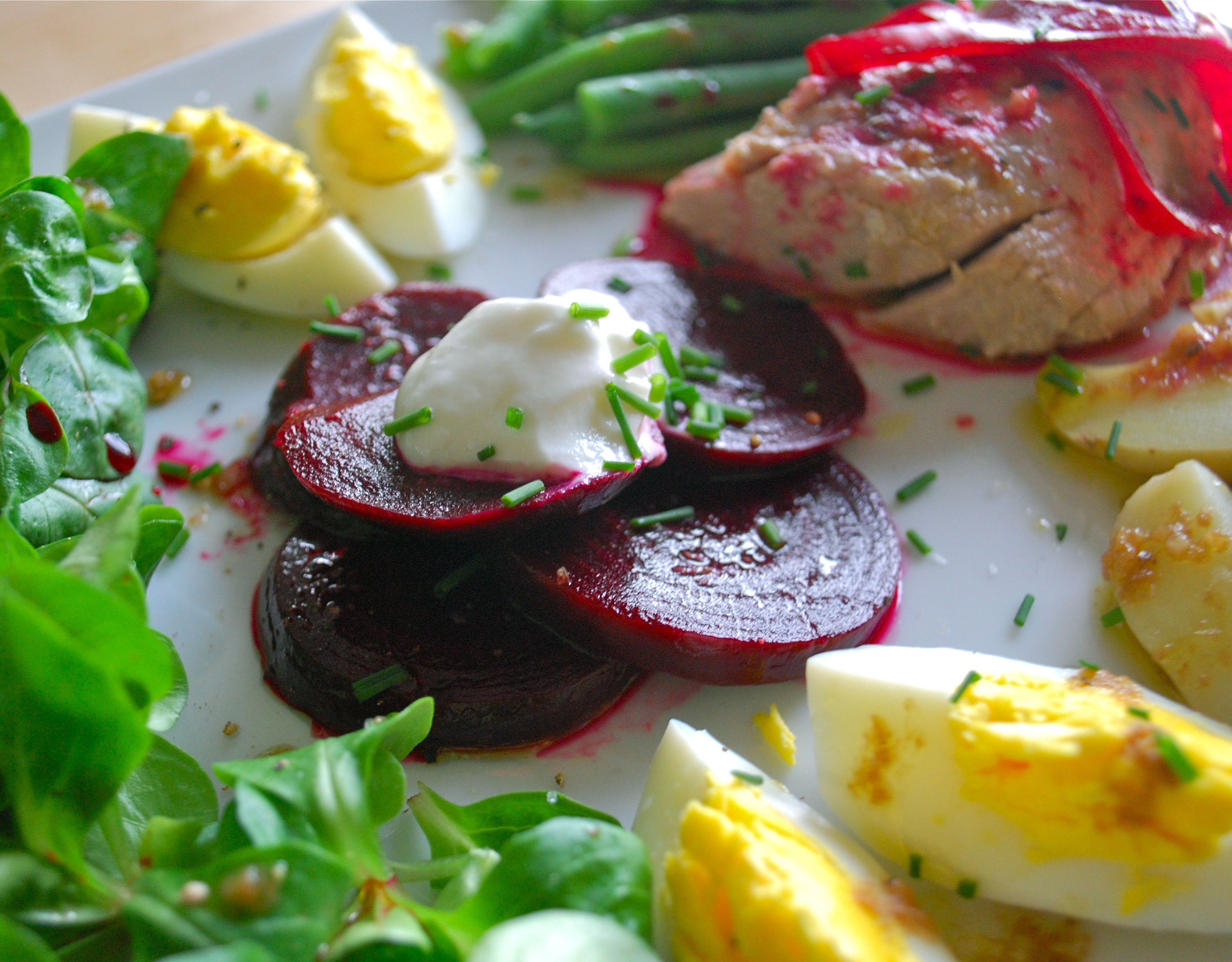 Pickled Beet Nicoise