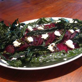 Beet_salad_with_white_cheese_fried_capers_kale_