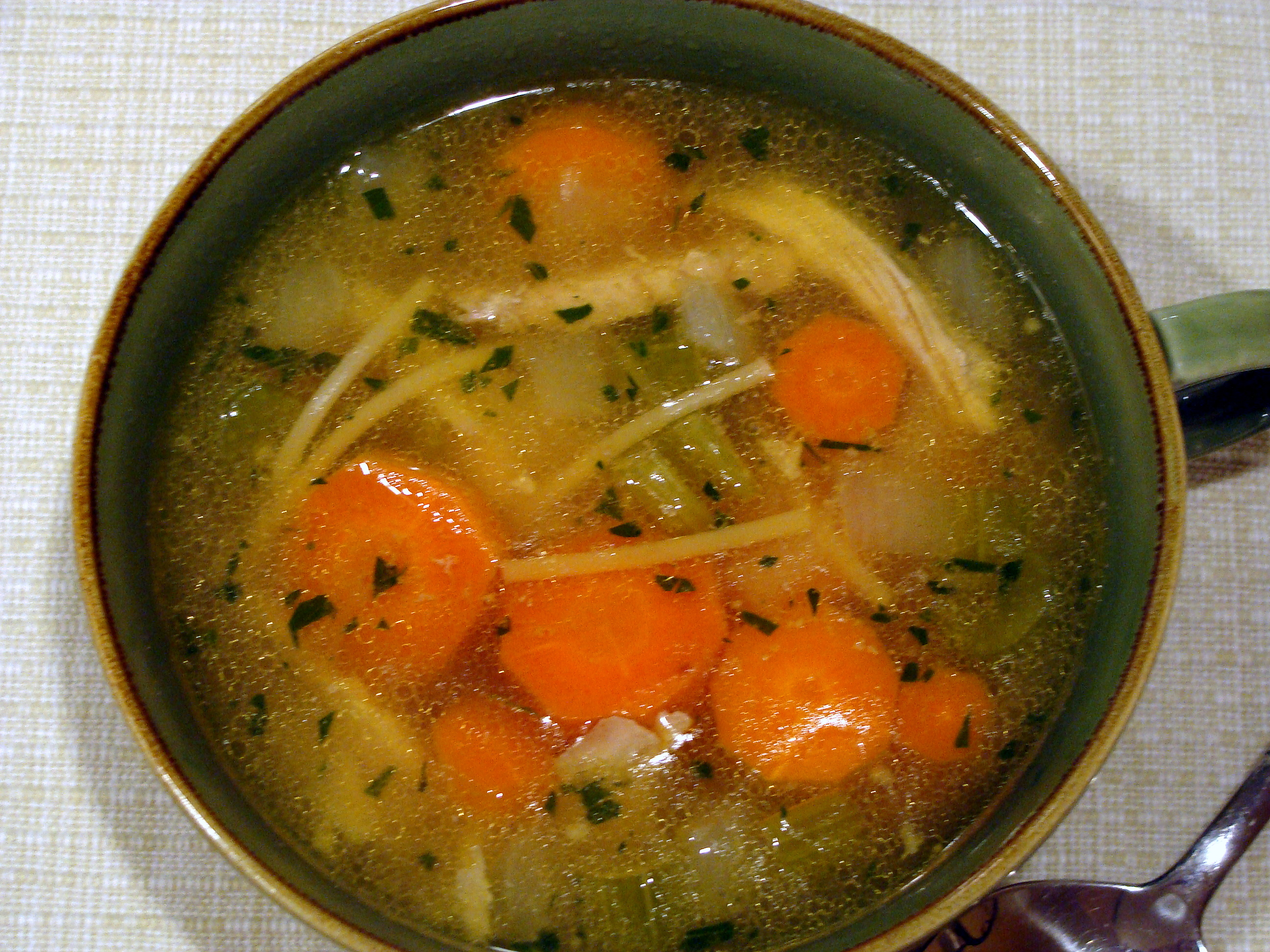 60-minute Chicken Stock
