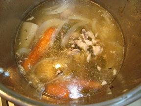 After Roast Chicken Stock