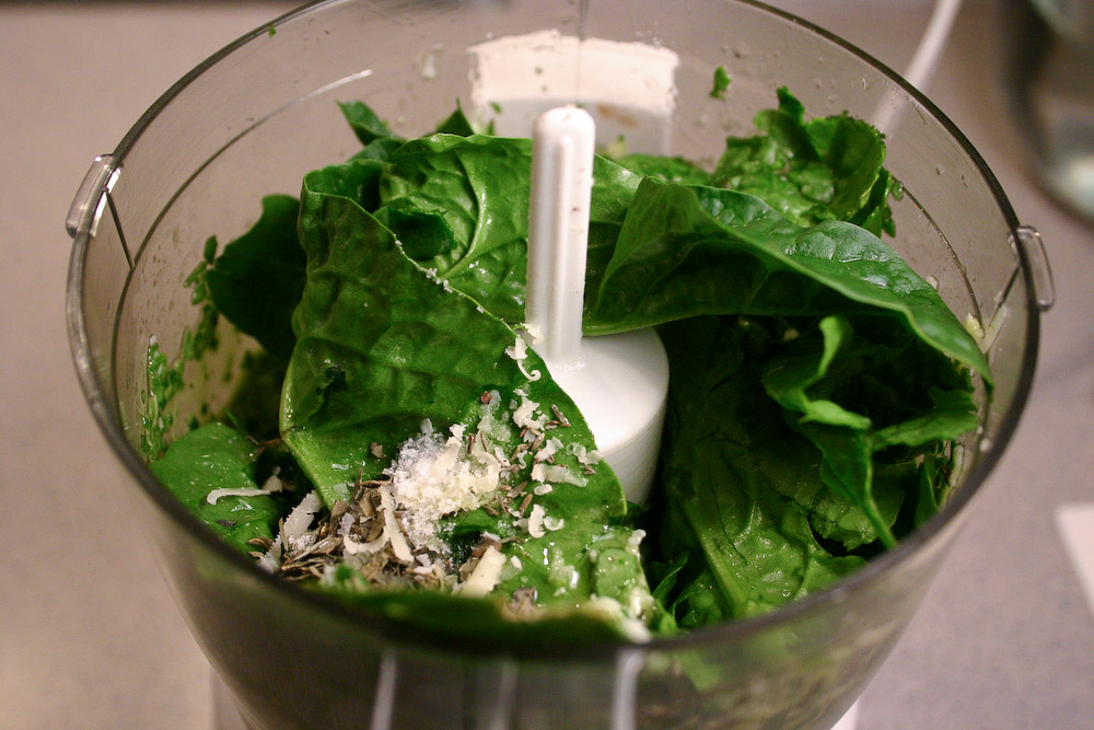 Italian Spinach Dressing