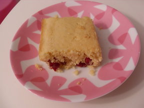 lemon cranberry cornbread