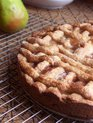 Whole Wheat Pear &amp; Cognac Crostata 