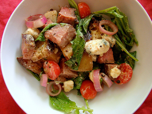 Beef Chopped Salad