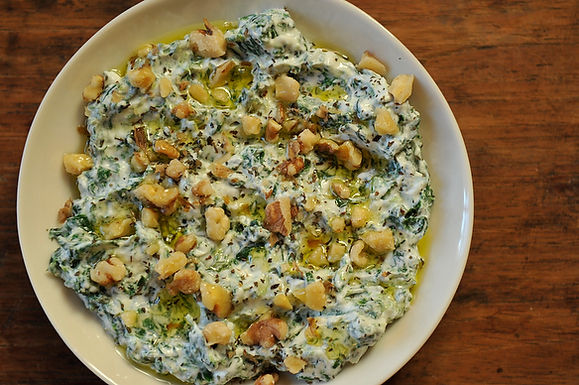 Yoghurt and Spinach Dip