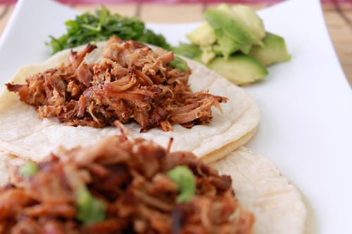 Chipotle and Orange Pork Tacos