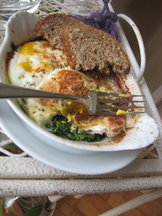 Greens, Eggs and Ham
