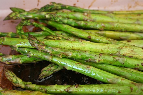 Spring asparagus salad
