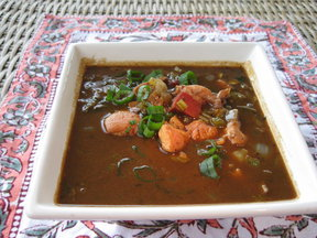 Rabbit and Tasso Gumbo