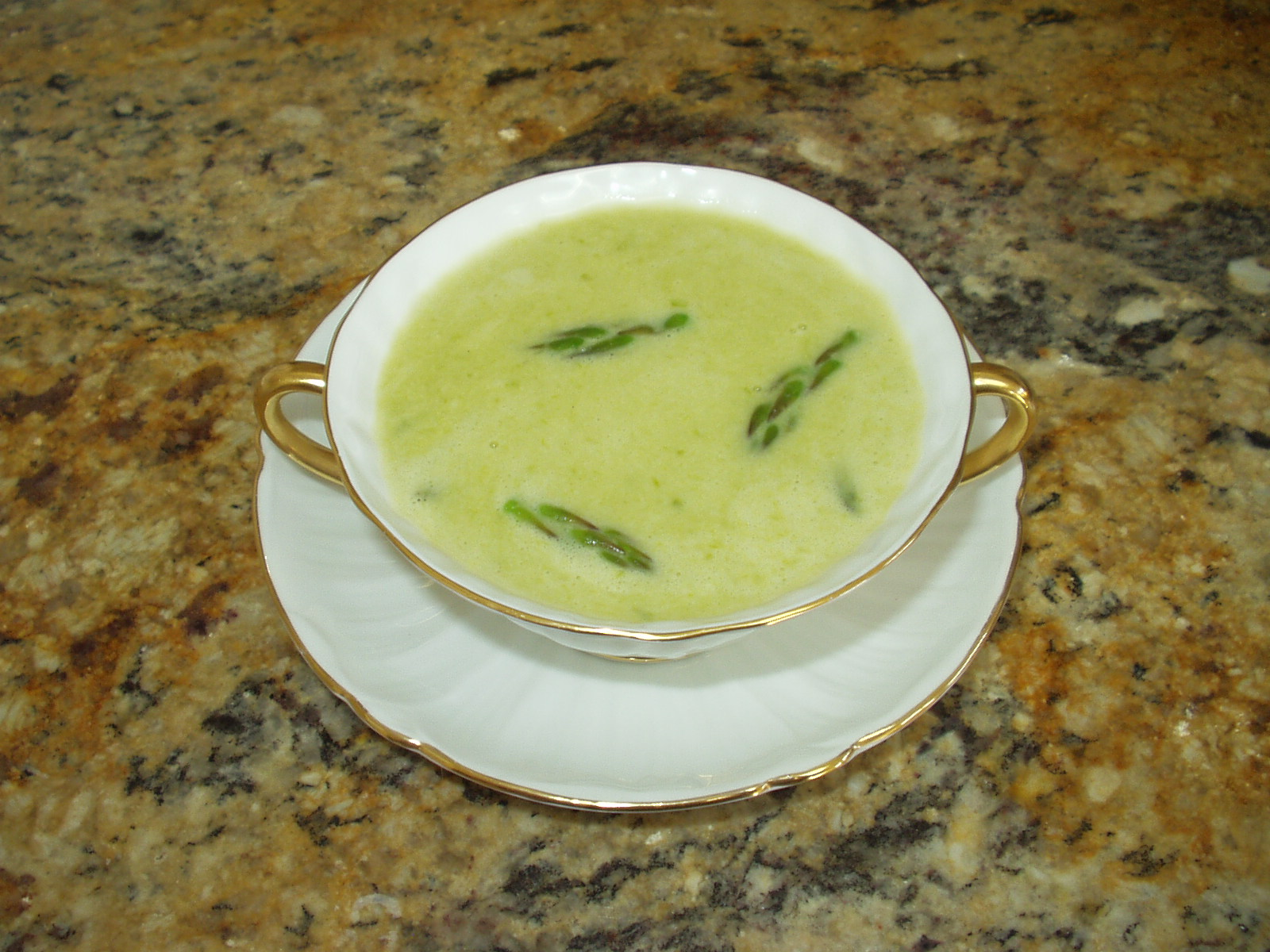 Potage Creme D&#x27;asperges