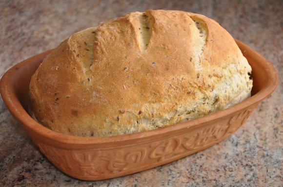 Flax Seed Potato Bread