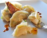 Scallop Potstickers