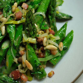 Addictive asparagus by Louise shane