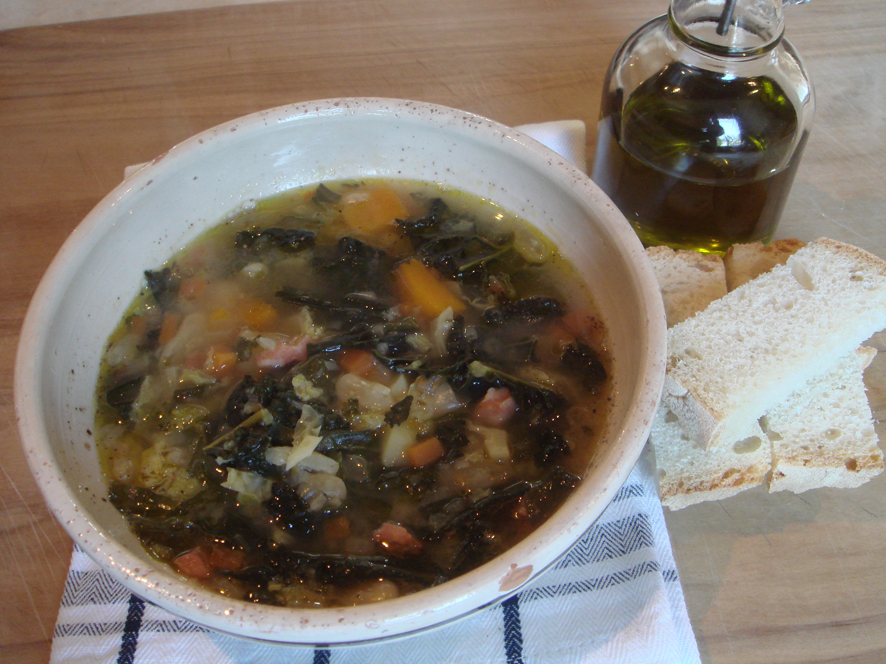 Zuppa Frantoiana - Olive Harvest Day Soup