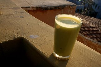 Saffron-Cardamom Lassi
