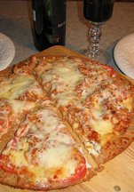 Tex-Italian Pizza for Two