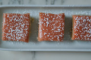 Rhubarb Curd Shortbread